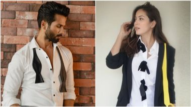 The Husband-Wife Fashion Faceoff: Shahid Kapoor or Mira Rajput, Whose Pics in Black and White Ensemble Do You Love More?