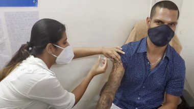 Shikhar Dhawan Receives First Dose of COVID-19 Vaccine, Thanks Frontline Warriors For Their Sacrifices & Dedication (View Post)