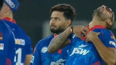 IPL 2021: Shikhar Dhawan Gives Hilarious Reaction as Dawid Malan Survives LBW Call During PBKS vs DC Clash (Watch Video)