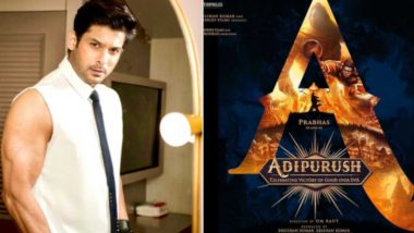 Adipurush: Sidharth Shukla Joins the Cast of This Prabhas-Starrer As Meghnath – Reports