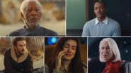 Solos Trailer: Morgan Freeman, Anne Hathaway, Anthony Mackie's Amazon Original Series Promises 7 Stories but One Connection (Watch Video)