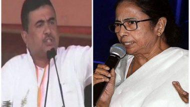 Suvendu Adhikari Slams Mamata Banerjee for Skipping Review Meeting with PM Modi on Cyclone Yaas, Says 'Dark Day for Ethos of Cooperative Federalism'
