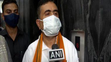 Suvendu Adhikari Reaches PMO in Delhi To Meet PM Narendra Modi