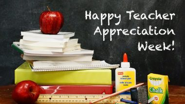 Teacher Appreciation Week 2021 Virtual Celebration Ideas: From Sending Personal E-Cards to Voice Notes; Here's How You Can Make Your Teachers Feel Special Amid COVID-19 Crisis