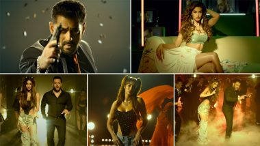 Radhe Title Track: Salman Khan Is All About That Swag While Disha Patani Raises the Temperature With Her Hot Avatar (Watch Video)