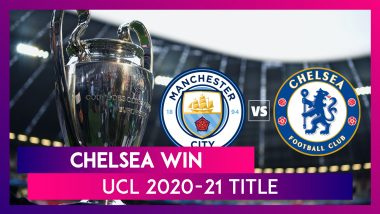 Manchester City vs Chelsea, UCL 2021 Final: Kai Havertz Leads The Blues to Win Title For Second Time