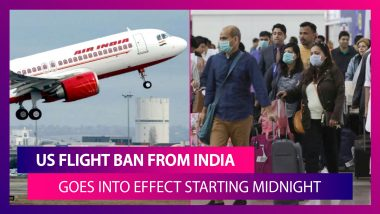 US Flight Ban From India Goes Into Effect Starting Midnight: What It Means