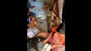 Video Showing Children, Women Packing RT-PCR Swab Sticks in Ulhasnagar House Goes Viral
