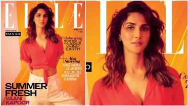 Vaani Kapoor Is Summer Ready on Elle India Magazine Cover With Cropped Shirt and Trousers, Shares Pic With Hashtag #WorkCommitments