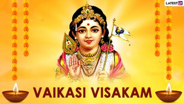 Vaikasi Visakam 2021 Images & HD Wallpapers for Free Download Online: Celebrate Lord Murugan's Birthday With Photos and WhatsApp Messages