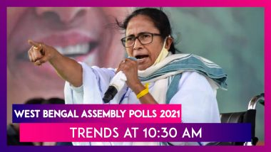 West Bengal Assembly Polls 2021: Trends At 10:30 am Show Trinamool Ahead In The State