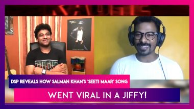 Devi Sri Prasad (DSP): Salman Khan's 'Seeti Maar' Song Is The Fastest To Cross 50M Views!