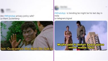 #WhatsApp Funny Memes and Jokes Take Over Twitter! Users Share Hilarious Reactions on New Privacy Policy & We Can't Stop Laughing