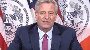 New York to Send COVID-19 Test Kits, Ventilators and Other Medical Supplies to India Amid Second COVID-19 Wave, Says Mayor Bill de Blasio