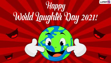 World Laughter Day 2021 Happiness Quotes & Greetings: Send Images, HD Wallpapers, Smiley Telegram Pics, Funny Messages, WhatsApp Stickers & GIFs to Your Loved Ones Today