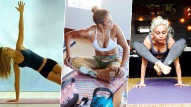 International Yoga Day 2021: From Jennifer Aniston to Jennifer Lopez to Miley Cyrus; 5 International Celebs Who Practice Yoga Regularly