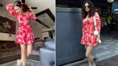 Fashion Faceoff: Mouni Roy or Yuvika Chaudhary, Who Looked Cuter In This Red Floral Dress?