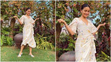 Alia Bhatt's White Wrap Summer Dress Has Beautiful Written All Over It (View Pics)