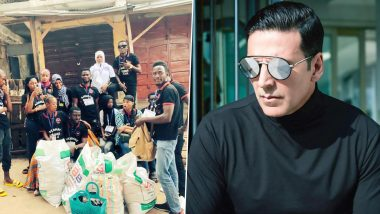 Akshay Kumar Gives a Shout Out to His African Fan Club For Donating Food Items to the Disabled