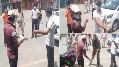 Chhattisgarh: District Collector of Surajpur Slaps Man, Smashes His Phone for 'Violating' Lockdown; Apologises After Video Goes Viral