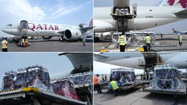 1200 Oxygen Cylinders from UK Arrive in India