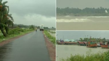 Cyclone Yaas Expected To Cross West Bengal-Odisha On May 26, Rain Lashes Digha (Watch Video)
