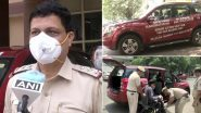 Delhi: COVI-VAN Facility Started By Greater Kailash Police Station to Help Senior Citizens During COVID-19 Pandemic
