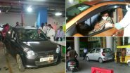 Bhubaneswar Municipal Corporation Launches Drive-In Vaccination Centre in Parking Lot of Esplanade Mall On Pilot Bases
