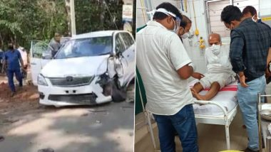 Union Minister Pratap Chandra Sarangi Suffers Injuries in Road Accident in Odisha's Balasore District