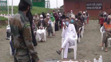 Jammu and Kashmir: Indian Army Organises COVID-19 Awareness Programme in Baramulla
