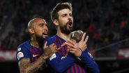 Gerard Pique Brutally Trolls His Former Barcelona Teammate Arturo Vidal After Inter Milan Wins Serie A 2021 Title
