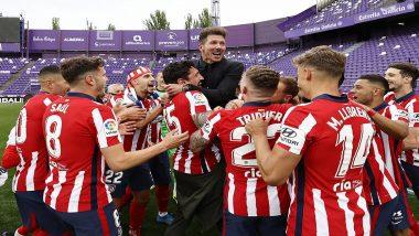 Real Madrid & Barcelona Congratulate Atletico Madrid for Winning La Liga 2020-21 Title (Read Tweets)