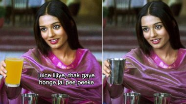 'Jal Lijiye Thak Gaye Honge' Meme Template Takes Twitter by Storm; Netizens' Epic Reactions to Amrita Rao's Dialogue From Vivah Will Tickle Your Funny Bone