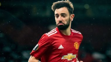 Bruno Fernandes Breaks Cristiano Ronaldo's Record, Scores 25 Goals in Just 48 Matches During Aston Villa vs Manchester United, EPL 2021