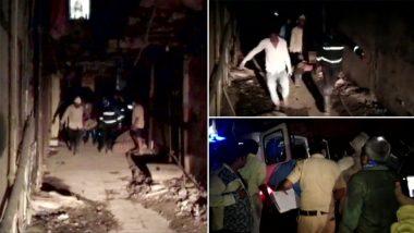 Building Slab Collapses in Ulhasnagar, 7 Dead