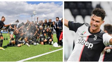 Cristiano Ronaldo Lauds Juventus Women's Team for Winning Their Fourth Serie A Title