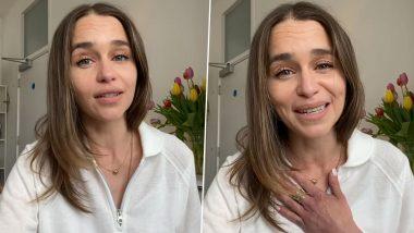 International Nurses Day 2021: Game Of Thrones Star Emilia Clarke Lauds Fundamental Role Nurses Play in Providing Healthcare (Watch Video)