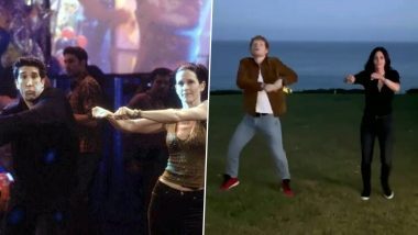 FRIENDS: Courteney Cox And Ed Sheeran Recreate Ross-Monica's Routine And They Had A Great Fall (Watch Video)