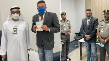 Sanjay Dutt Receives Golden Visa For The UAE, The Actor Thanks The Government For The Honour