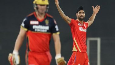 IPL 2021: Yuvraj Singh 'Very Happy' for Punjab Kings' Harpreet Brar After All-Rounder's Match-Winning Show Against RCB