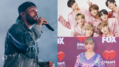 iHeartRadio Music Awards 2021 Full Winners' List: The Weeknd, BTS, Taylor Swift Win Big at the Starry Night!