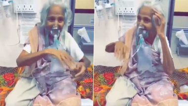 Heart-Warming Video Capturing Garba Moves of a 95-Year-Old COVID-19 Patient Goes Viral on Social Media