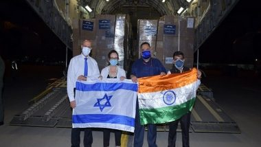 Israel Sends Third Consignment of Oxygen Concentrators, Respirators to India