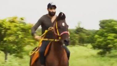 Ravindra Jadeja's Horse Riding Video Goes Viral as he 'Sharpens his Skills'