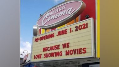Quentin Tarantino's New Beverly Cinema Set to Reopen in June