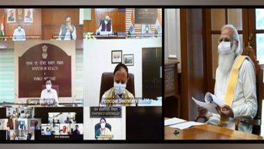 PM Narendra Modi Chairs Meeting Over COVID-19