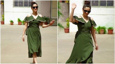 Ankita Lokhande's Olive Green Dress is a Summer Staple (View Pics)