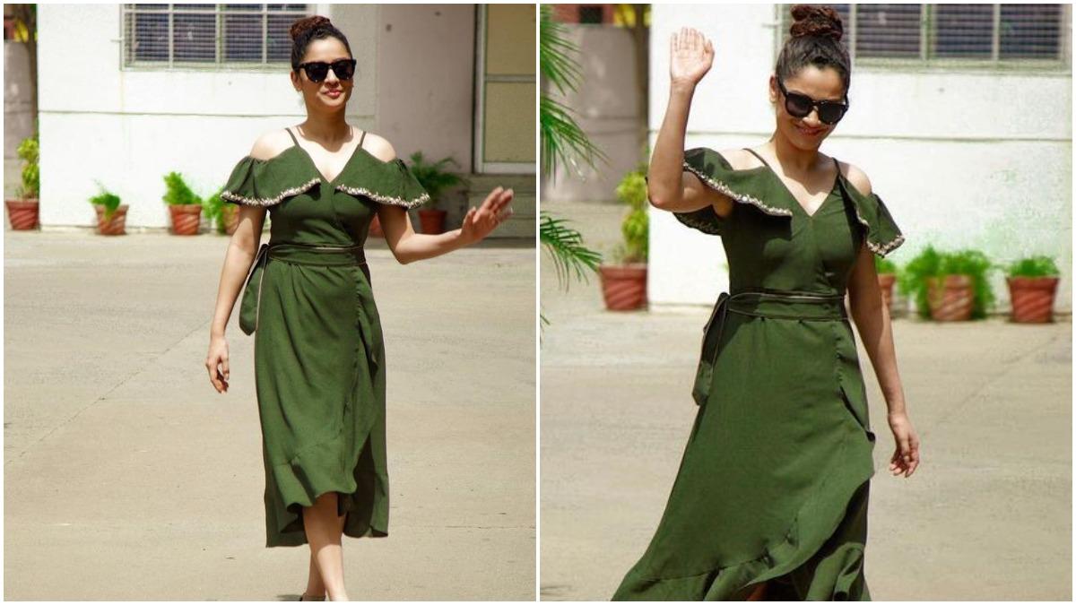 Ankita Lokhande's Olive Green Dress is a Summer Staple (View Pics) – Socially Keeda