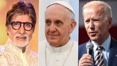 Amitabh Bachchan Joins Pope Francis, Joe Biden and Others for a Global Event To Encourage COVID-19 Vaccine