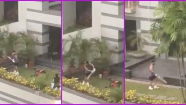 Virat Kohli Seen Practicing in Quarantine Ahead of UK Tour (Watch Video)